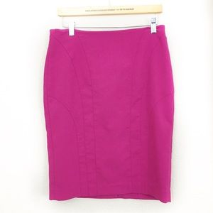 Banana Republic Pink Pencil Skirt size 10